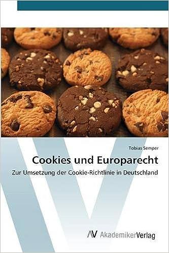 Amazon com: Cookies und Europarecht (German Edition