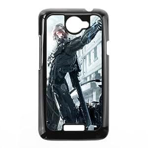 HTC One X Cell Phone Case Black Metal Gear Rising Revengeance Raiden SU4331609