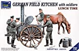 RCH35045 1:35 Riich German Field Kitchen with Soldiers'Lunch Time' [MODEL BUILDING KIT]