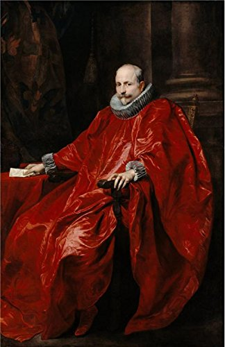 Oil Painting 'Portrait Of Agostino Pallavicini,1621 Anthony Van Dyck' Printing