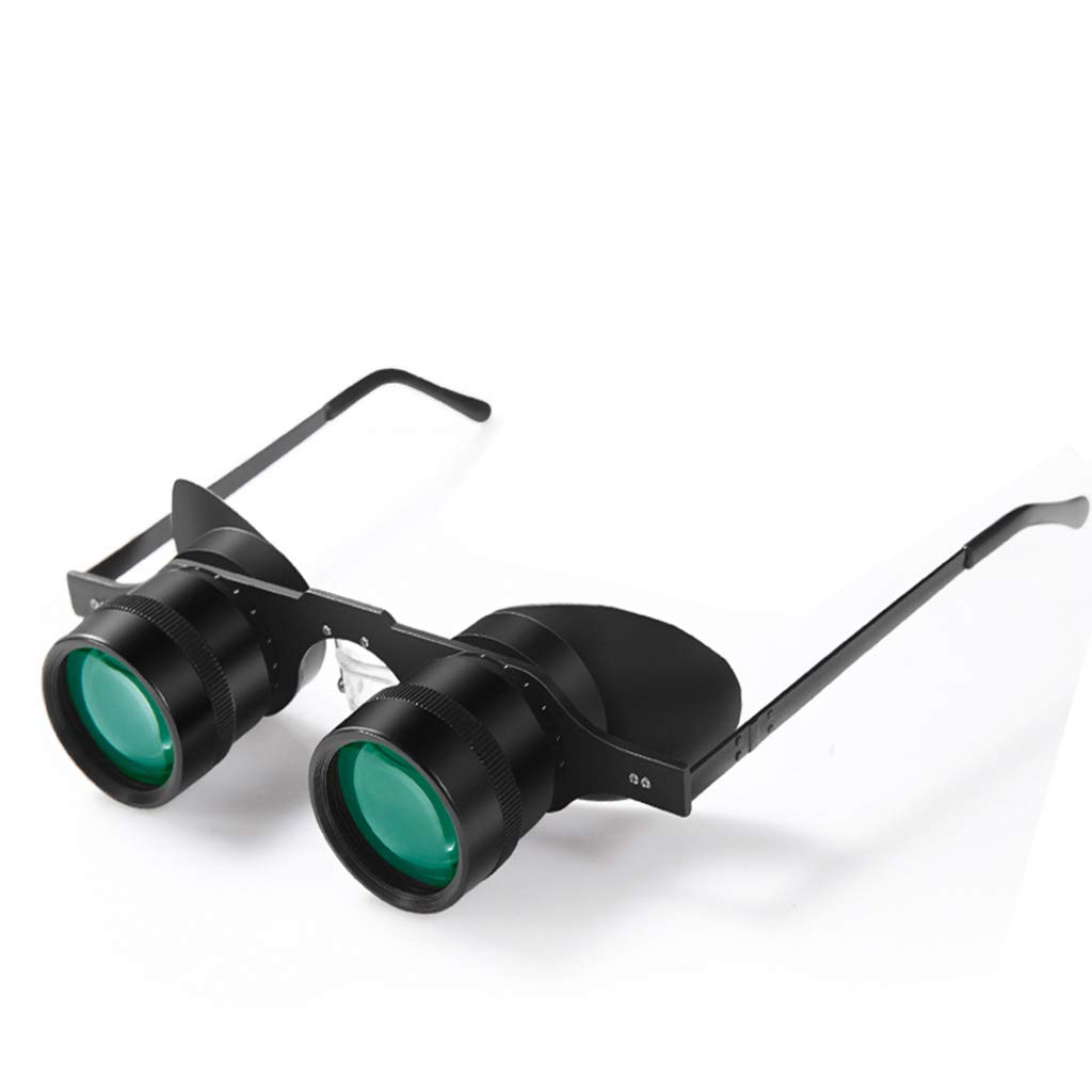 Night Vision Binoculars Binoculars For Adults Binoculars Binoculars For Bird Watching 10X Glasses Fishing Telescope To Watch The Game Ultralight Night Vision Outdoor Telescope ( Color : Black ) by ZhaoLiRuShop