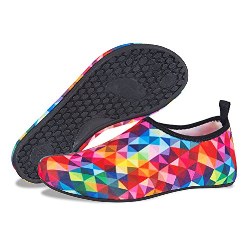 Aqua for Surf Womens Sport Socks Dry Shoes Water Mens Yoga Multicolor Barefoot Jihe Swim Quick Water Pool Beach Shoes zOn7gS1Wn