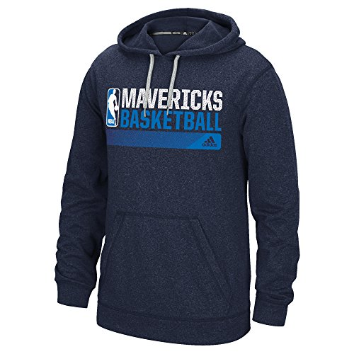 Adidas Dallas Mavericks Sweatshirt (adidas NBA Dallas Mavericks Icon Status Climawarm Ultimate Hoodie, Large, Navy)