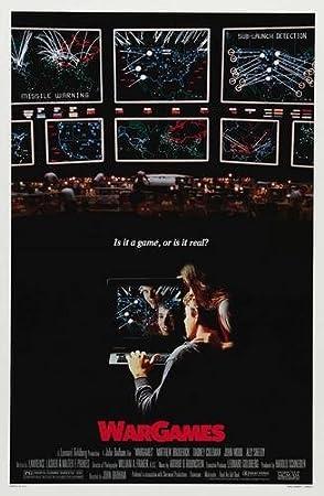 Image result for wargames movie poster