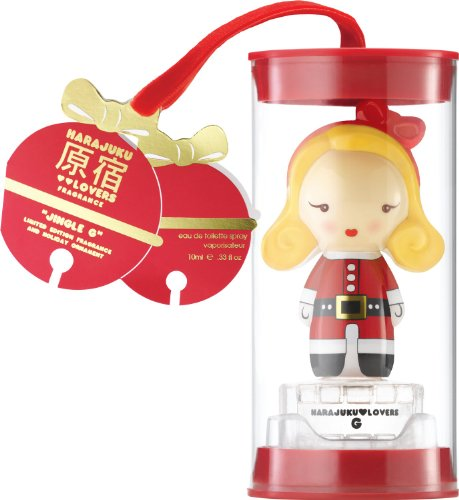 Harajuku Lovers Jingle G size 0.33 oz concentration Eau de Toilette formulation Spray