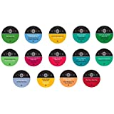 Two Rivers LLC Stash Tea Sampler Pack for K-Cup Brewers, 40 Count