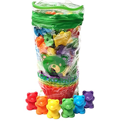 Jumbo Sorting And Counting Bears With Stacking Cups