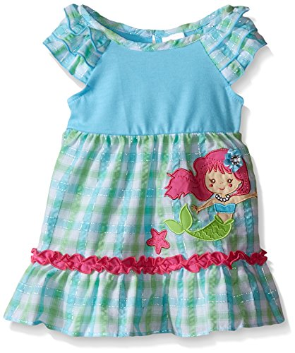 Blue Plaid Seersucker Skirt - 4