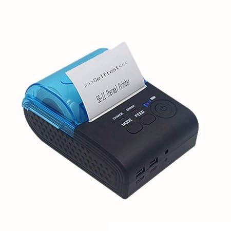 Impresora térmica de Recibos Impresora portátil Personal ...