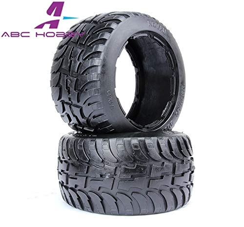 Part & Accessories HPI RACING/KM HPI 5B 5T 5SC LOSI TDBX FS racing MCD 1/5 scale rc Rear road tyre skin set without inner foam
