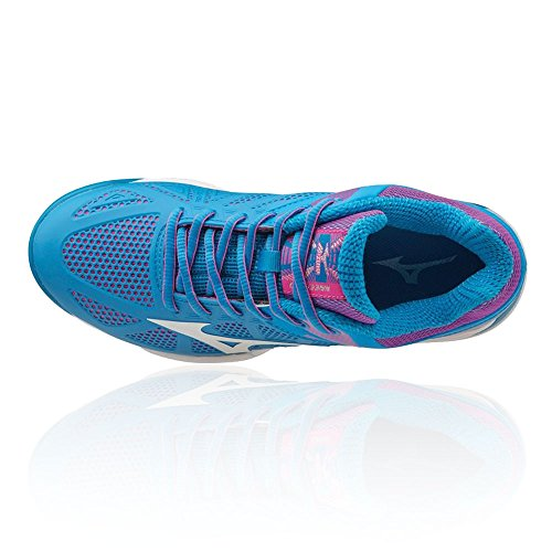 CC Blue Tennis Women's Mizuno Tour Exceed Wave Shoes wFaqa0tE