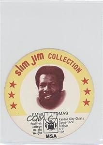 Emmitt Thomas (Football Card) 1978 Slim Jim Collection Discs - [Base] #EMTH