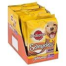Pedigree Schmackos Dog Treats Meat Variety, 20 Sticks, 172 g (Pack of 9)