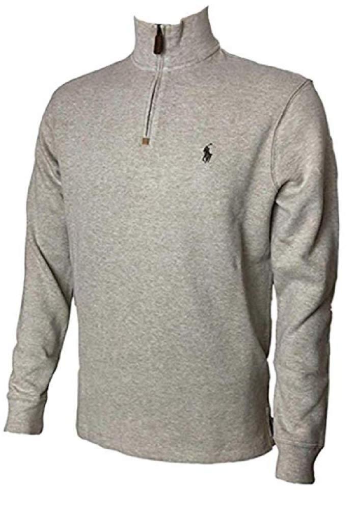 56b8575ee Polo Ralph Lauren Men s Half Zip French Rib Cotton Sweater product image