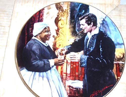 Collector Plate - Gone with the Wind - Golden Anniversary Series Plate #11 - A Toast To Bonnie Blue