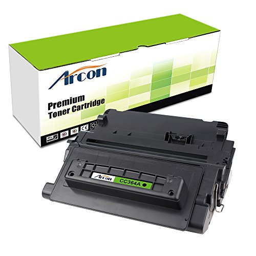 ARCON 1PK Black Replacement for HP CC364A 64A Toner Cartridge High Yield 10,000 Pages For HP LaserJet P4014n, P4015n, P4015x, P4515n, P4515x Printer