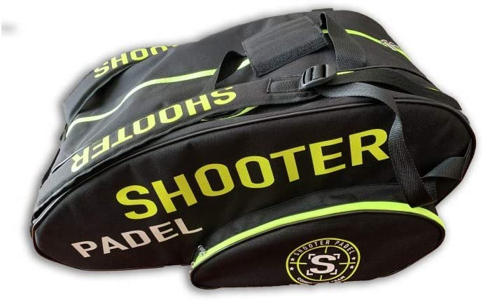Shooter padel Paletero Amarillo y Negro
