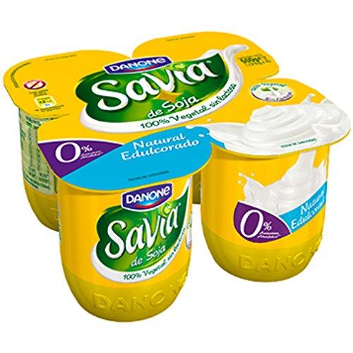 Danone Savia - Savia de Soja Natural, 4 x 125 g: Amazon.es: Alimentación y bebidas