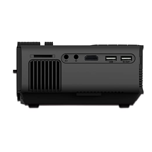 XWEM Proyector, Full-HD 3000 Lúmenes Video Proyector 200