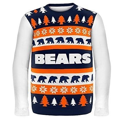 Amazoncom Nfl Football 2014 Ugly Christmas Sweater Word Mark