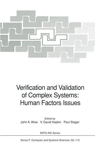 Download Verification and Validation of Complex Systems: Human Factors Issues (Nato ASI Subseries F:) Pdf