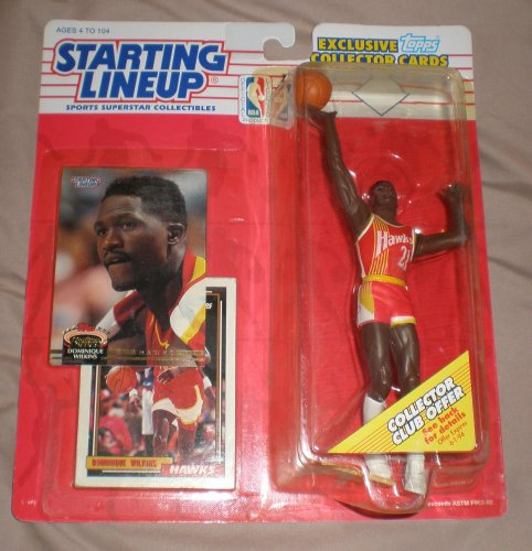 1993 Dominique Wilkins NBA Starting Lineup Figure