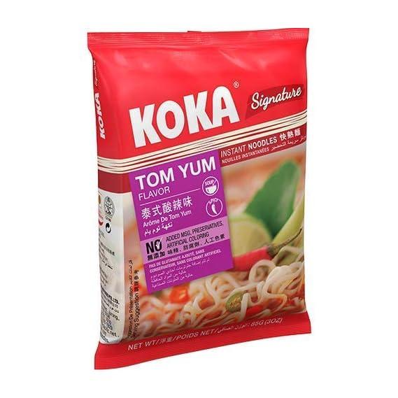 KOKA Signature Tom Yum Noodles(85g x 4 Packs)