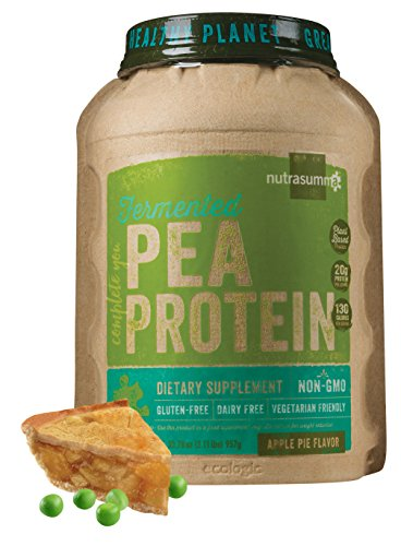 Nutrasumma Fermented Pea Protein, 2lb, Apple Pie by Nutrasumma