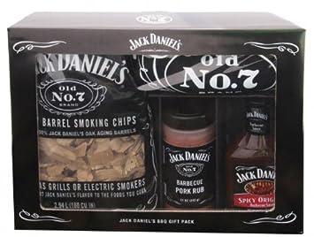 amazon com grilling accessory jack daniels bbq gift pack set 4