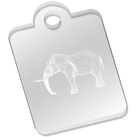 Elefante del Marco del Alambre Llavero (AK00029245): Amazon ...