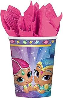 Amscan Pack de 8 Vasos Shimmer & Shine (581653)