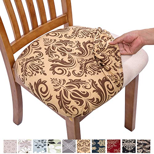 dining chair seat covers set of 4 - 4