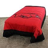 College Covers Arkansas Razorbacks 2 Sided Reversible Comforter, Full