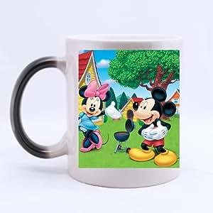 Disney Movie Donald Duck and Mickey Mouse Morphing Mug Cappuccino/Latte/Coffee Mug