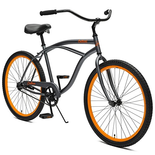 (Critical Cycles by Westridge Chatham Men's Single Speed Beach Cruiser, 18