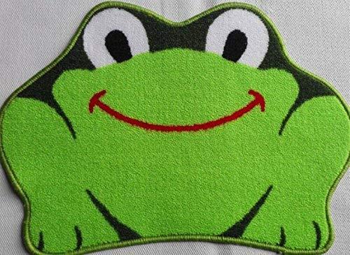 Kingwin cute Cartoon a forma di rana bagno antiscivolo tappetino zerbino/ /verde