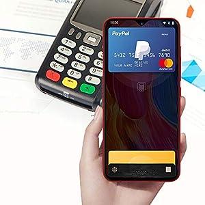 51viOeciw3L. SS300  - UMIDIGI-F1-Factory-Unlocked-Phone-Android-90-63-FHD-128GB-ROM-4GB-RAM-Helio-P60-5150mAh-Big-Battery-18W-Fast-Charge-Smartphone-NFC-16MP8MP-PhoneRed