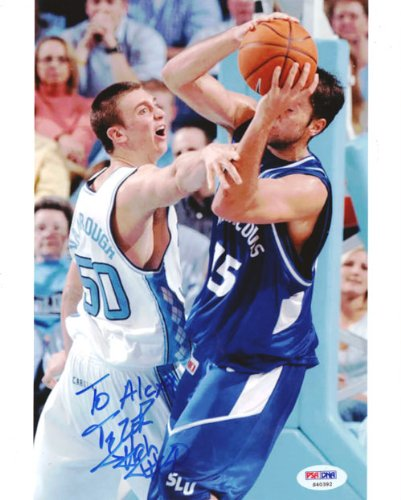Tyler Hansbrough Autographed 8x10 Photo North Carolina To Alexa PSA/DNA #S40392 ()