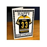NHL ICE HOCKEY JERSEY FRIDGE MAGNET BIRTHDAY CARDS - NHL EASTERN CONFERENCE - ANY NAME, ANY NUMBER, ANY TEAM !!!