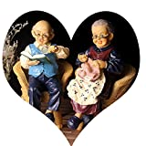 YyStatues Creative Home - Wedding Practical Decorations - Granny and Grandpa