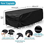 king-do-way-Outdoor-Patio-Furniture-Covers-Extra-Large-Outdoor-Furniture-Set-Covers-Waterproof-Windproof-Tear-Resistant-UV-Fits-12-14Seat-Upgraded-Version-124X70X29