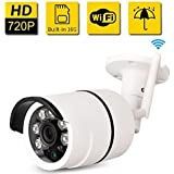 SDETER Outdoor Security Camera HD Wireless Wifi Camera CCTV With Waterproof Night Vision Motion Detection