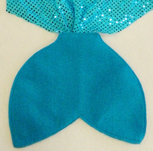 Aqua Blue Mermaid Tail Costume Party Favors (Party Pack) Ages -