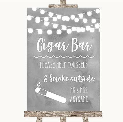 Gris Acuarela luces colección gris Acuarela luces Cigar Bar ...