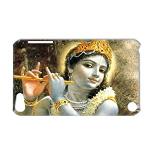 3D Print Hot Design Hinduism Lord Krishna Background Case Cover for IPod Touch 5- Personalized Hard Back Protective Case Shell-Perfect as gift