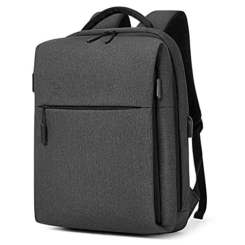 MOCA Kaka Series Anti-Theft Oxford Polyester Greyish Black Laptop...