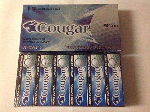 Cougar X-CAT TI Titanium Distance (Golf Distance Ti Titanium Ball)