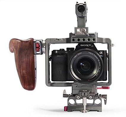 Tilta ES-T17-A1 - Jaula para cámara Sony A7 A7S2 A7III A7R3 A7S3 ...
