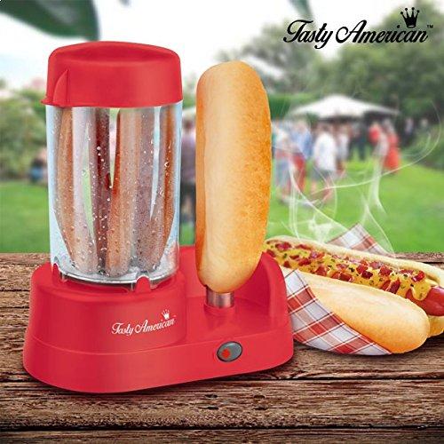 Macchina per la preparazione di gustosi hot dog americano TotalCadeau