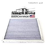 Trophy Air 14x20x1 MERV 8 | Washable Furnace Filter | Lifetime HVAC & Furnace Air Filter | Washable Electrostatic | High Dust Holding Capacity | Premium Quality Aluminum & Antimicrobial Coating